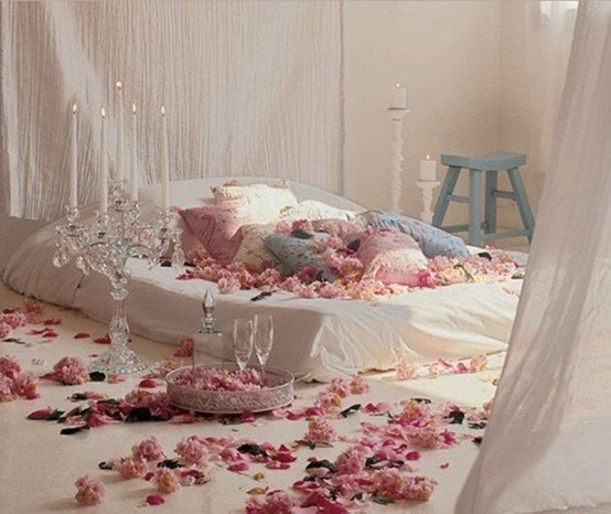 Romantic Valentine Bedroom Interior Design : Beautiful Interiors and 18th Century Style: Pretty in Pink!