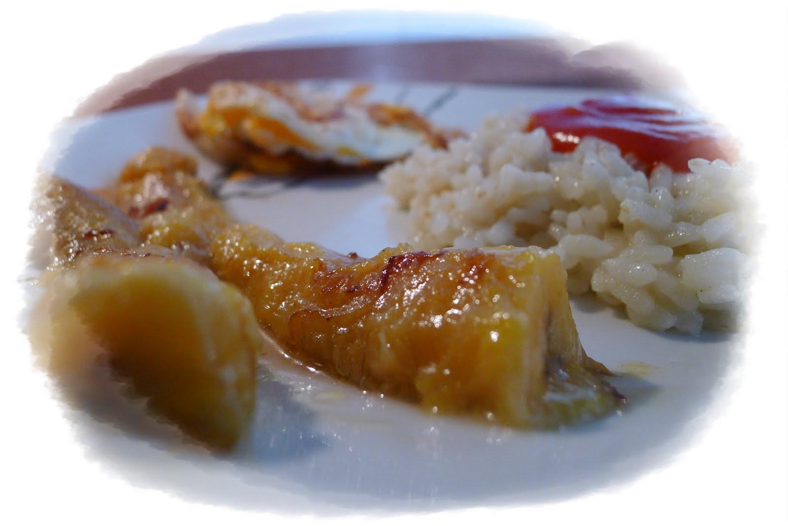 Con aroma a caserito arroz a la cubana a mi manera - Calorias arroz a la cubana ...