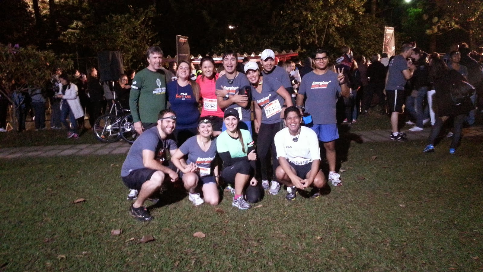 Nossa foto na Energizer Night Race 2013