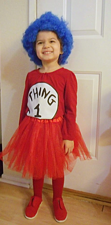 My husband planted the seed on my mind that we can just put the costume together ourselves.  sc 1 st  A Bountiful Love & A Bountiful Love: DIY Thing 1 and Thing 2 Costumes