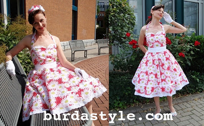 Free Pattern 1950's Sewing - Rockabilly Dress