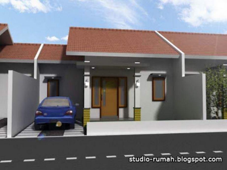 kreasi rumah minimalis type 36 cantik terlihat depan