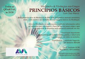 Meditação & Vivência em Grupo - Princípios Básicos da Meditação