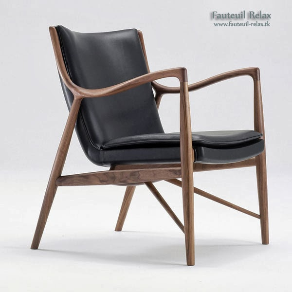 fauteuil scandinave mod le 45 fauteuil relax. Black Bedroom Furniture Sets. Home Design Ideas