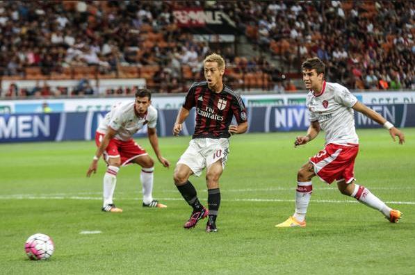AC Milan 2-0 perugia pada ajang Coppa Italia