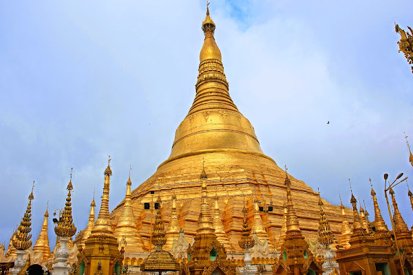 Pagoda Shwedagon - Yangon - Myanmar