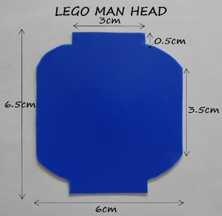 Lego Man Head Template Lego sugar cookies