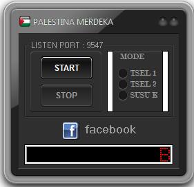 Inject Tsel Palestina Merdeka BosterSpeed