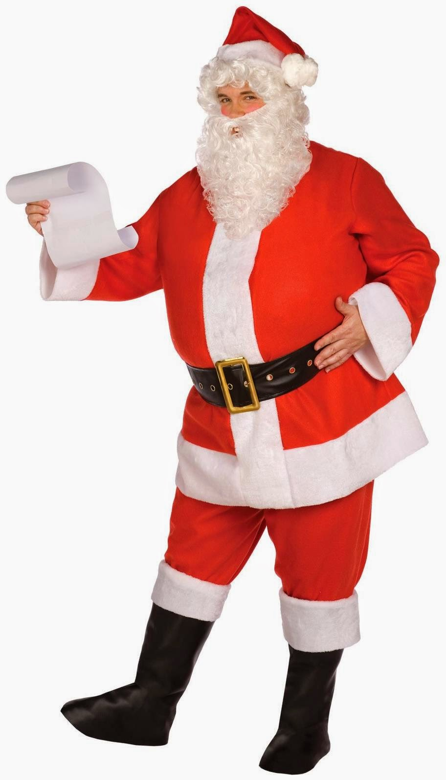 Complete Santa Suit Adult Costume