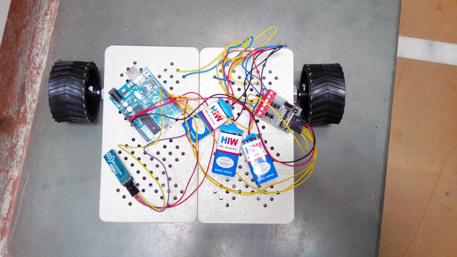 Insect Robot Iedprojects2015iiitd Rgb Led Controller Schematic Pyroelectro News Projects The Robotic Arm Parts Are Made By 3 D Printer
