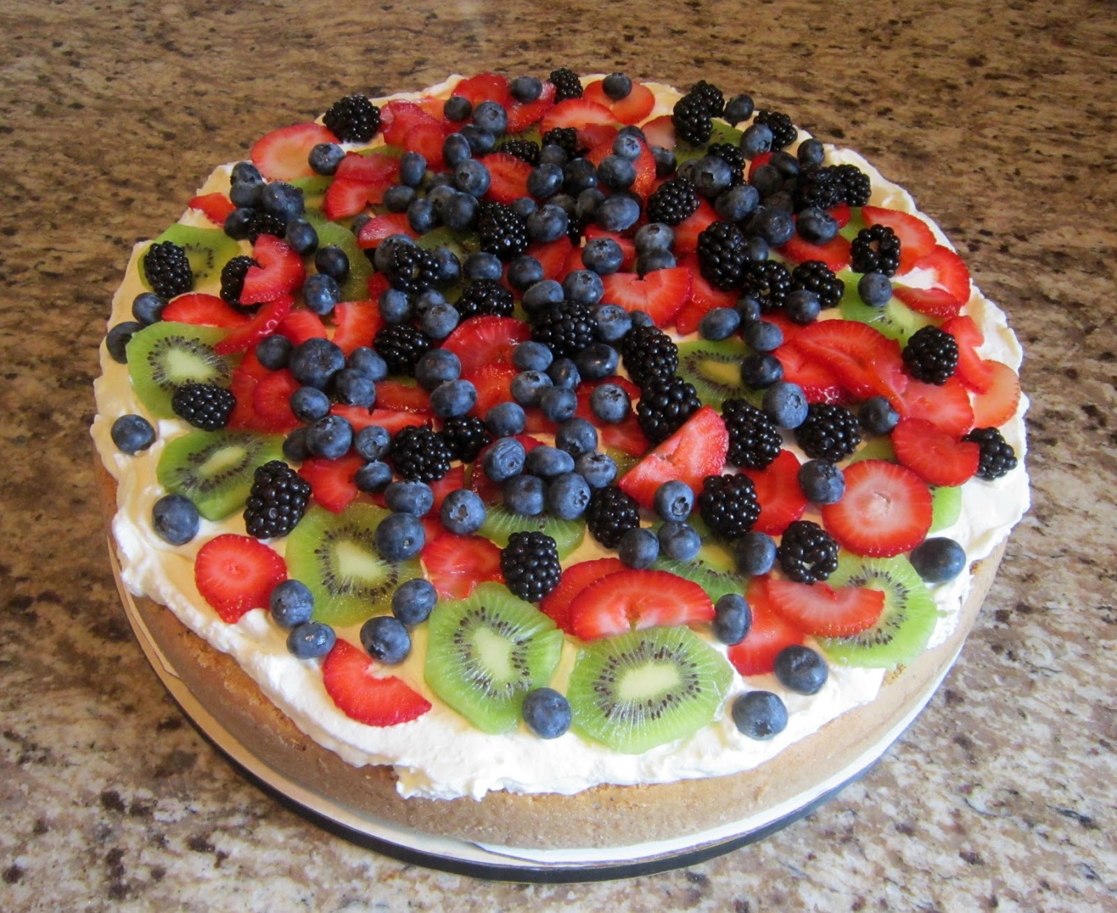 Delectable Cakes Poppy Seed Cake with Fresh Berries