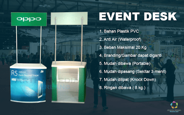 harga event desk, event desk murah, jual event desk, event desk alumunium, event desk alumunium murah, event desk bekas, produk event desk, mencari event desk