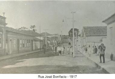 RUA JOSE BONIFACIO EM 1917