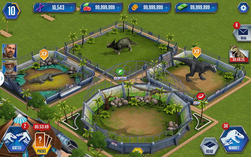 Jurassic World The Game Hack Unlimited Dna
