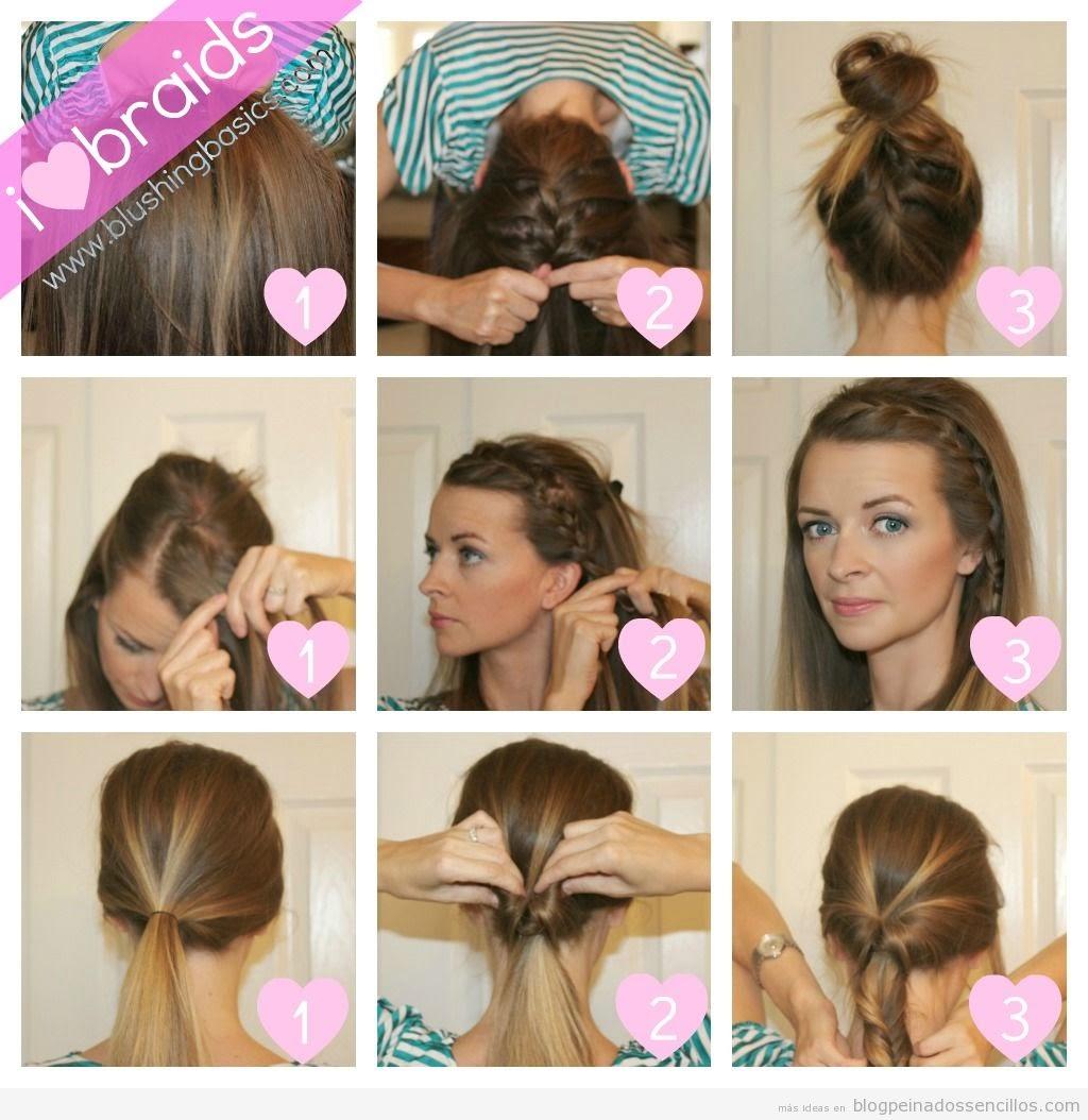 secretos de chicas peinados fcilessencillos y rpidos - Peinados Rapidos Y Faciles