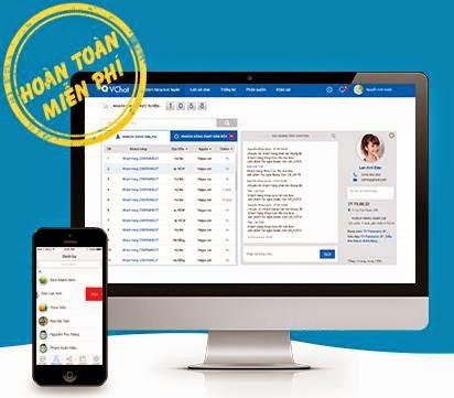 Phần mềm live chat vchat hỗ trợ trực tuyến online