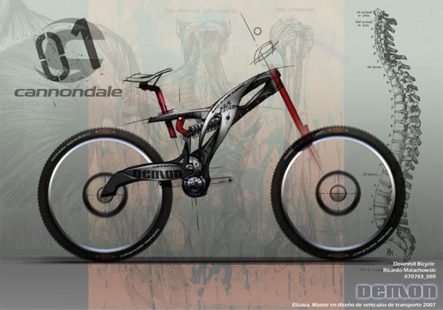 Masqbocetos dise o e inspiraci n dise os de bicicletas for Disenos para bicicletas