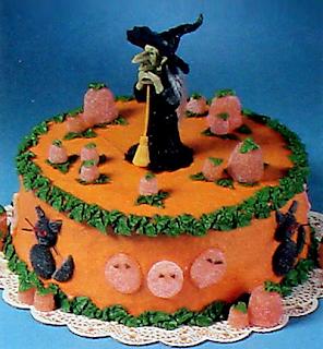Pasteles para Hallowen, parte 1