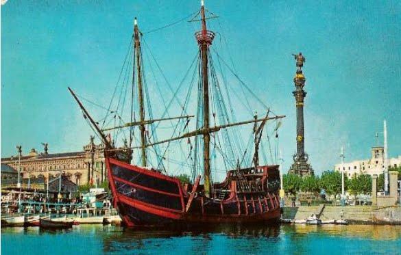 Hallan en el Caribe lo que podrían ser los restos de la carabela Santa María de Cristóbal Colón CarabelaSantaMaria
