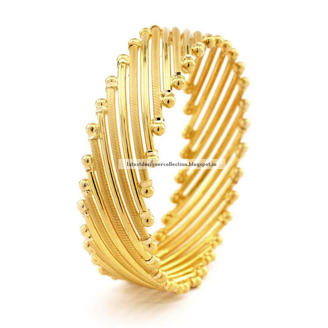 Grt gold broad bangle design 22k latest indian clothing for 22k gold jewelry usa
