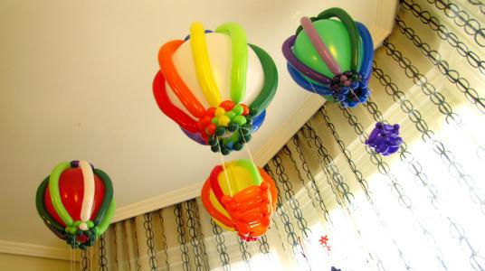 decoracion de globos para fiestas infantiles