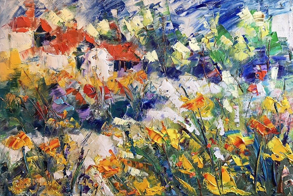 Frederic Payet Wild yelow flower Provence