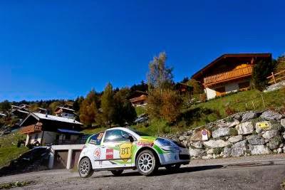 Florin Tincescu si Iulian Nicolaescu - Citroen C2 R2 Max - Rallye International du Valais