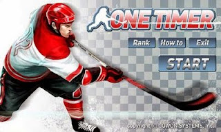 Screenshots of the Ice Hockey: One Timer for Android tablet, phone.