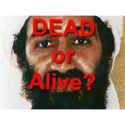 osama bin laden died. Osama Bin Laden was announced