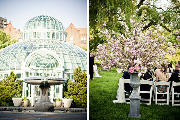 For The Love Of Cake By Garry Ana Parzych Botanical Gardens Spring Wedding Featured In