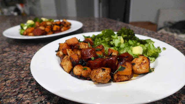 Chicken and Chorizo sausage recipe #glutenfree