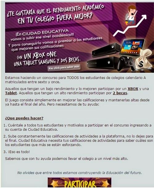 Concurso Ciudad Educativa