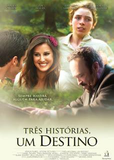 """Cartaz do filme """"Três Histórias, um destino"""""""