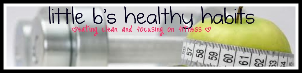 Little b&#39;s healthy habits