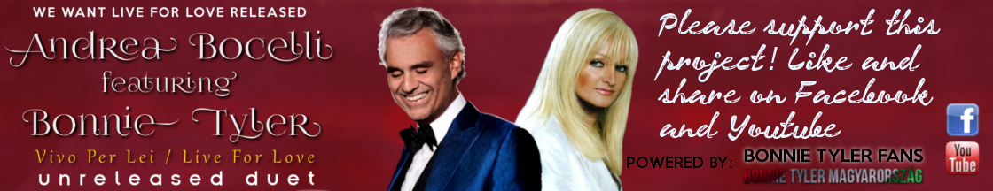 Andrea Bocelli feat. Bonnie Tyler - Unreleased duet