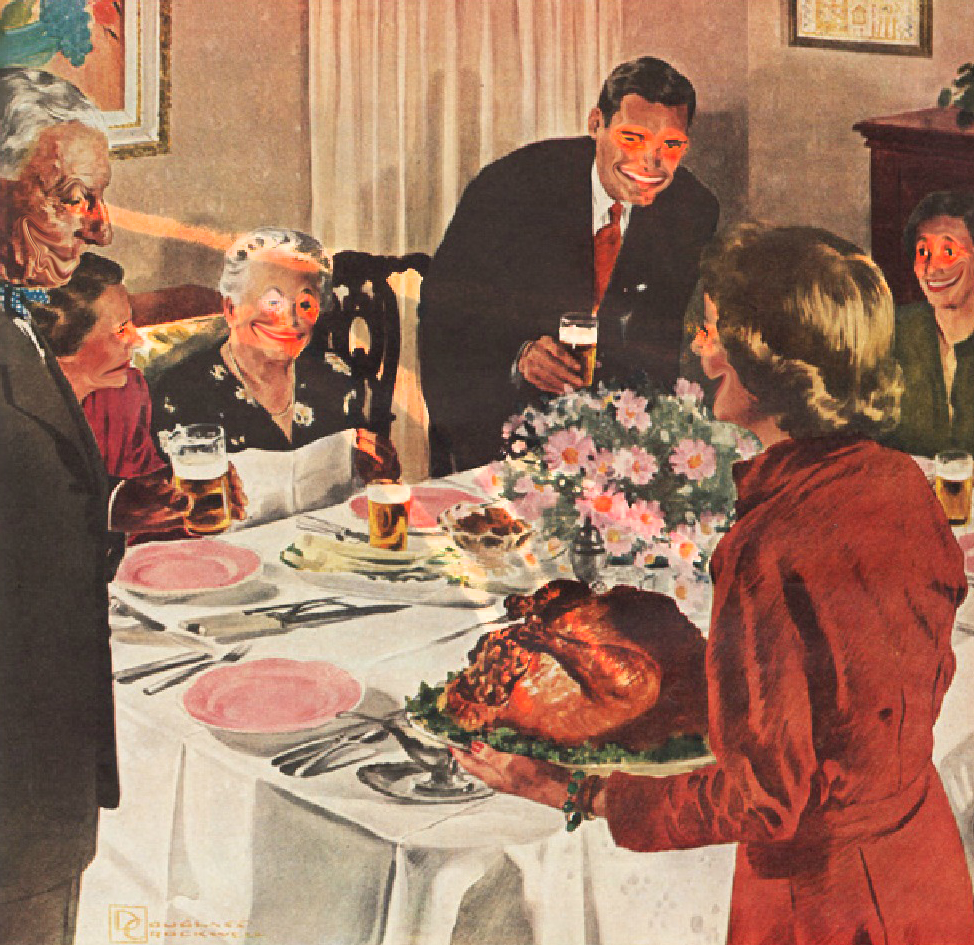 THANKSGIVING MENU FOR DYSFUNCTIONAL FAMILIES