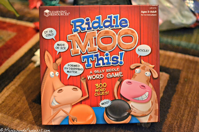 Riddle Moo This: A Silly Riddle Word Game Giveaway