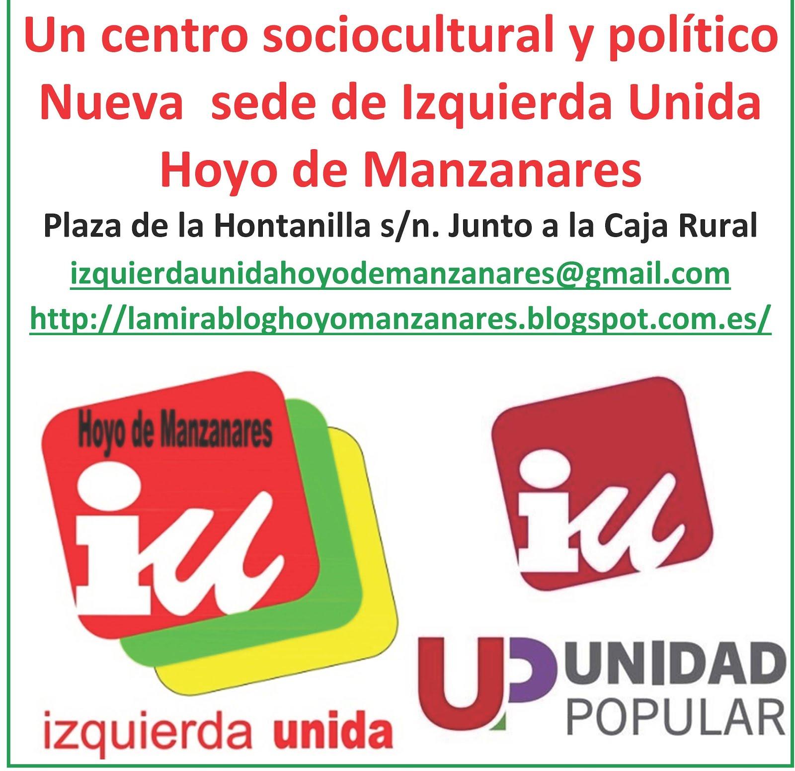 Abierto a todos los colectivos sociales de Hoyo de Manzanares