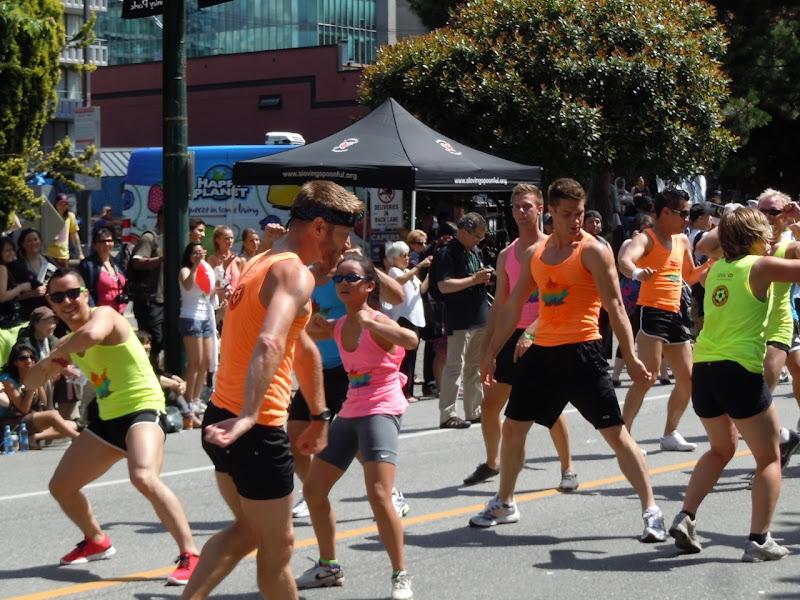33rd Vancouver Pride Parade dancers