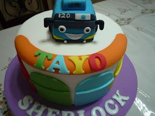 GG Home Biz Cakes & Wedding Cakes: Tayo the Little Bus ...