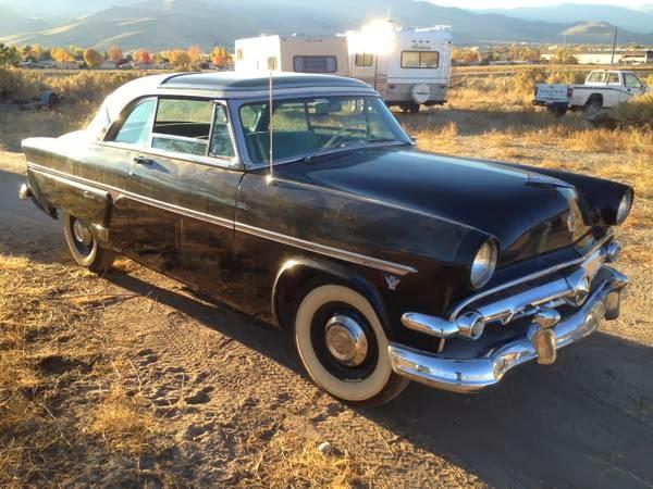 Daily Turismo: 15k: Greenhouse Gasser: 1954 Ford Crestline ...