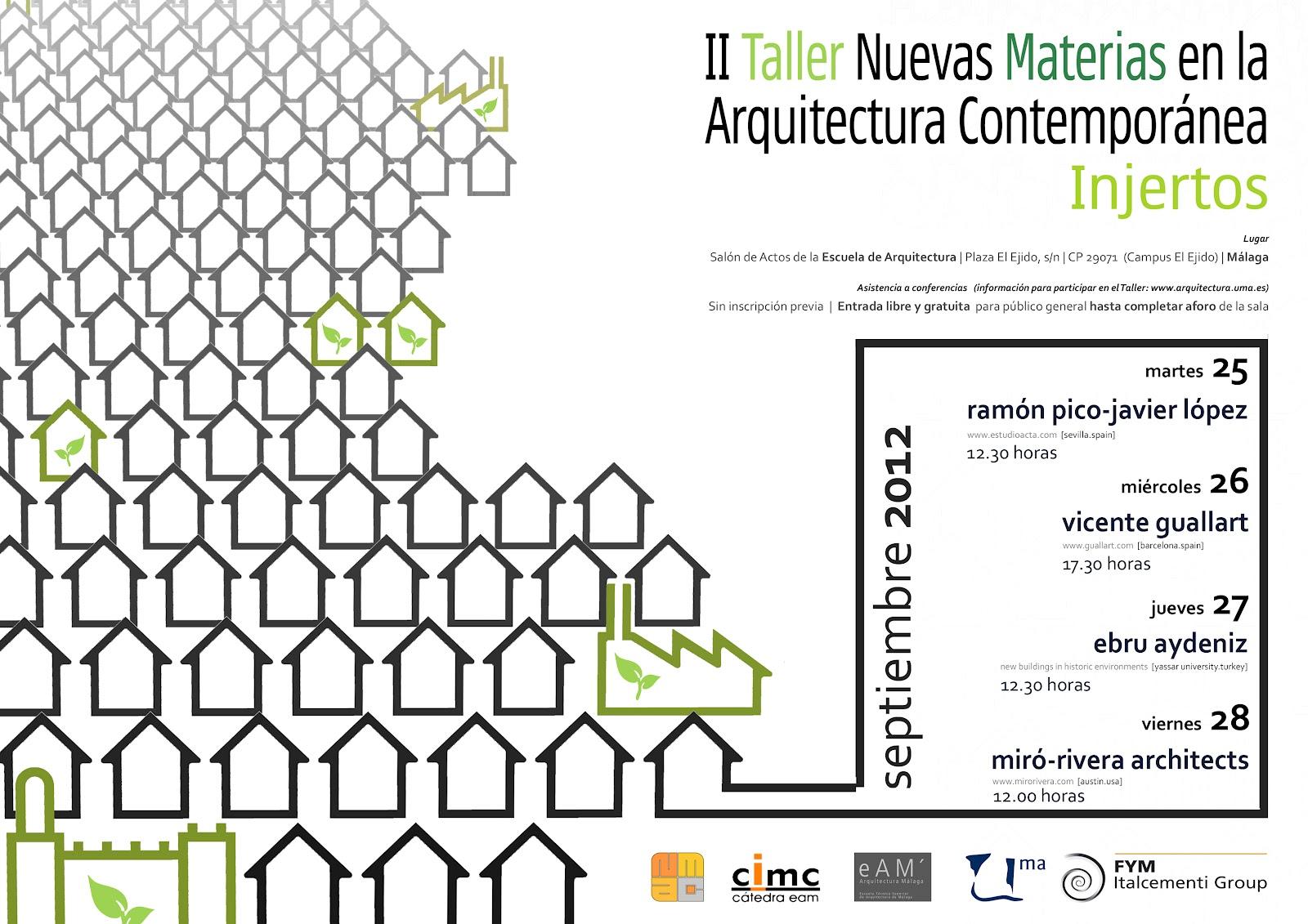 Gij n arquitectura blog ii talller nuevas materias en la for Arquitectura materias