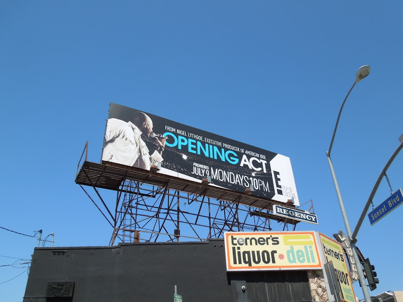 Opening Act billboard