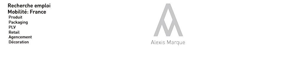 Alexis Marque -Conception et Design-