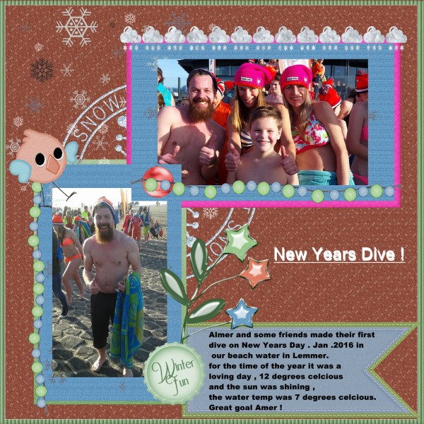 Jan.2016 - New Years Dive !