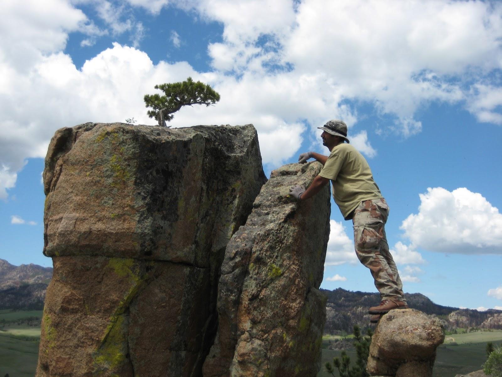 Nebraska Bonsai Society Wyoming Collecting Trip