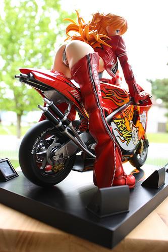 STRANGER BLOG: ASHUKA LANGLEY ON MOTORCYCLE