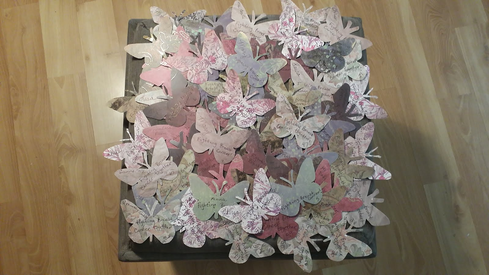 Paper Butterflies Campaign