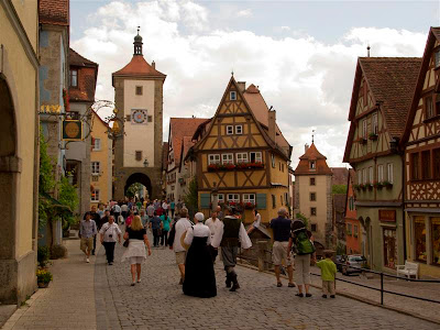 Torre Siebers en Rothenburg ob der Tauber