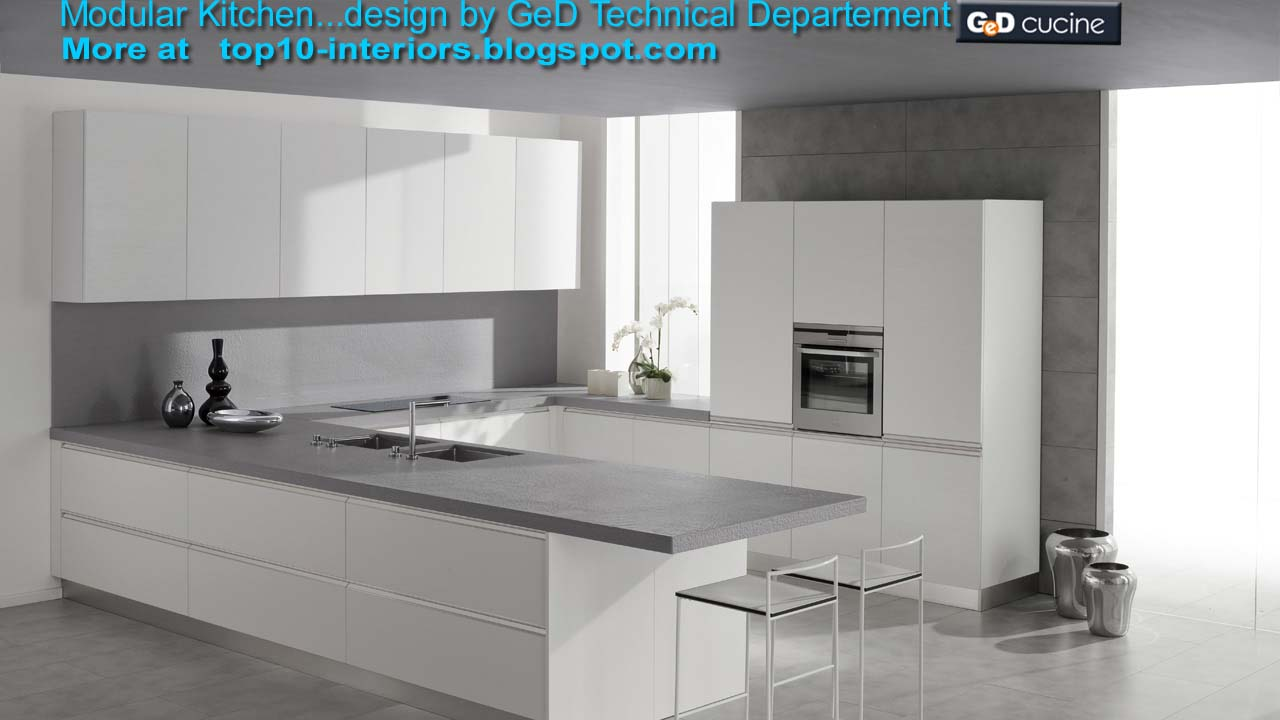 Top 10 interiors top10 modular kitchen part5 10photos for Top 10 kitchen designs